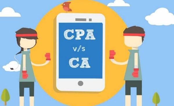 CPA Vs. CA