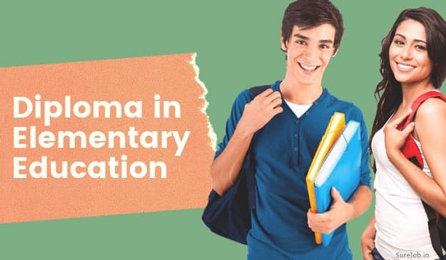 Diploma in Elementary Education (D.El.Ed) Course