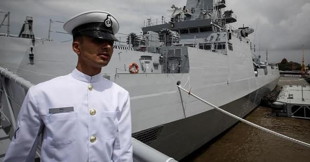 Navy Officer in India